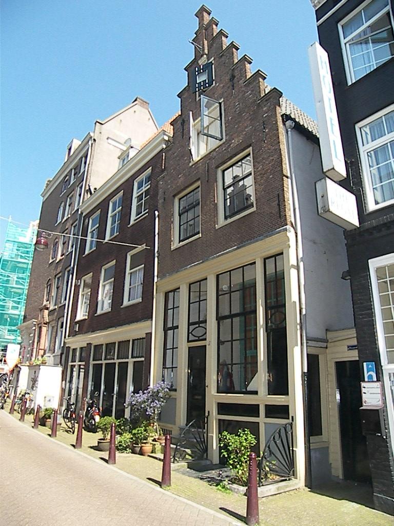 Authentic Jordaan   Front Of Historic Landmark